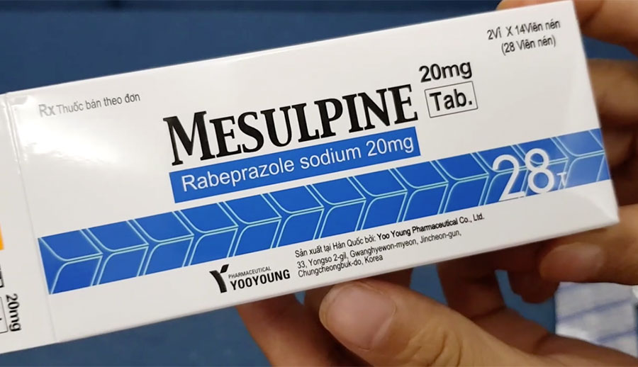Mesulpine 20mg Rabeprazole sodium 20mg