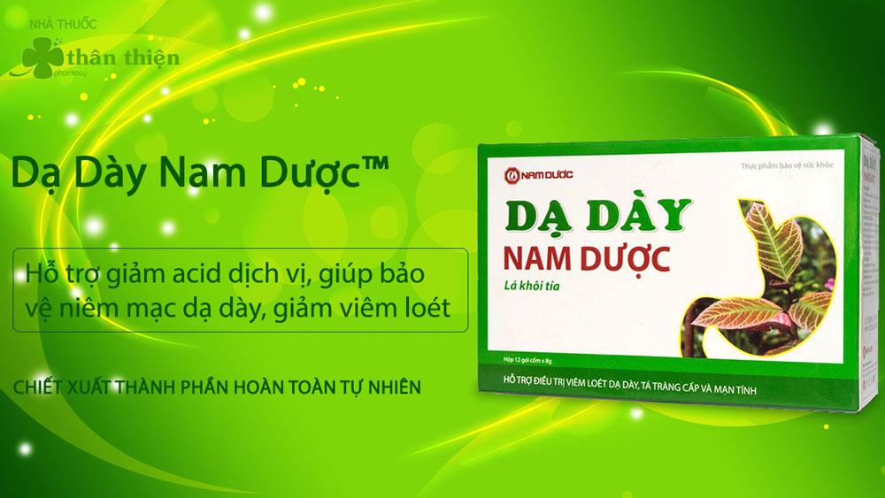 Sản phẩm Dạ Dày Nam Dược đang được bán trên thị trường