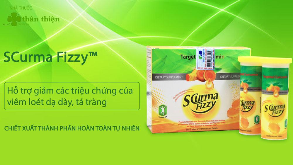 Viên sủi SCurma Fizzy có bán chính hãng tại Nhà Thuốc Thân Thiện