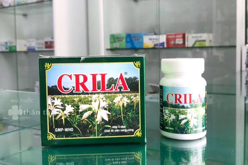 Thuốc Crila hiện đang có bán chính hãng tại Nhà Thuốc Thân Thiện