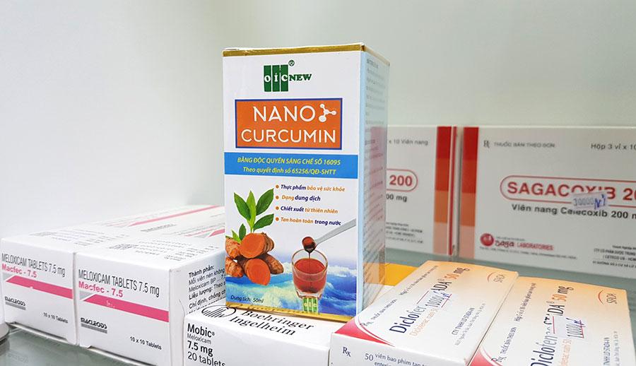 Dung dịch Nano Curcumin của OIC