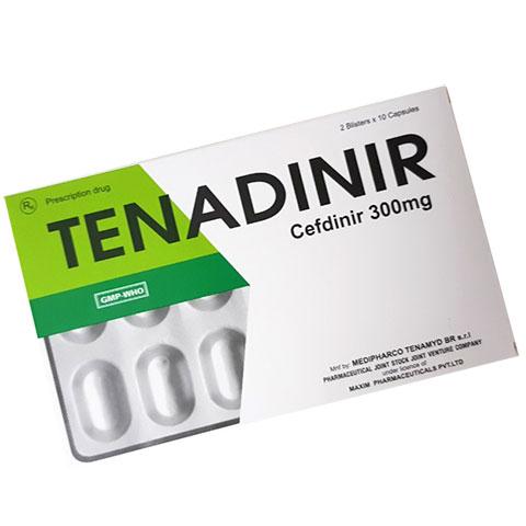 Thuốc Tenadinir Cefdinir 300mg!