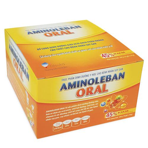 Hộp Aminoleban Oral