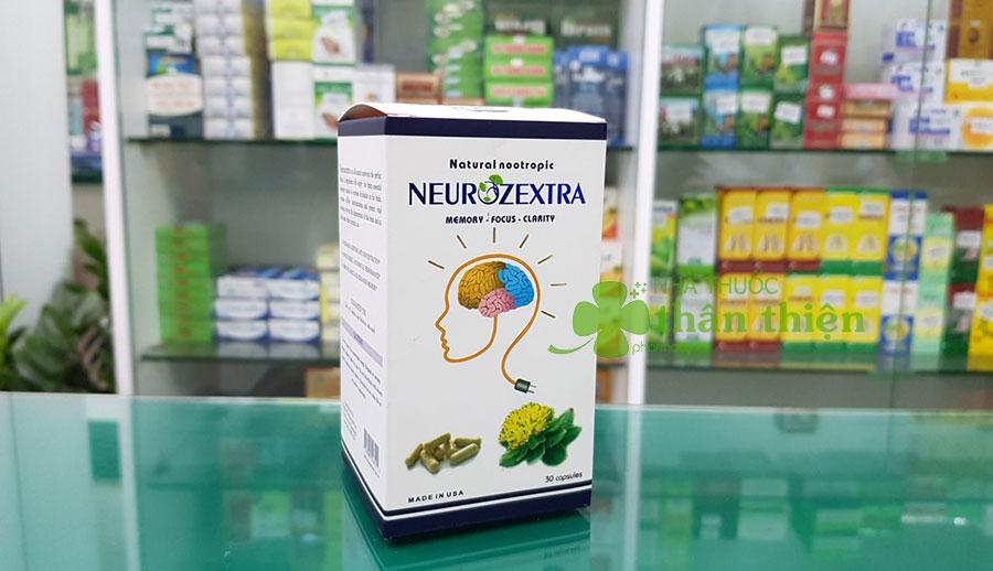 Hình chụp sản phẩm Neurozextra tại nhà thuốc!