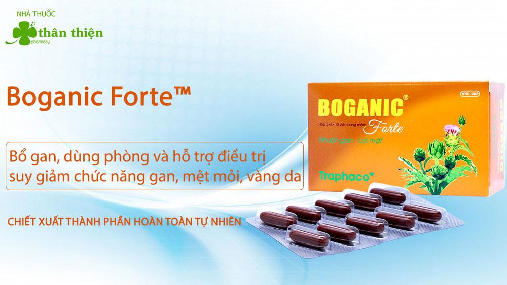 Sản phẩm Boganic Forte có bán chính hãng tại Nhà Thuốc Thân Thiện