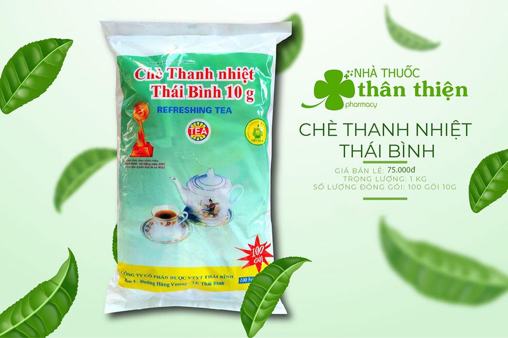 Nhà Thuốc Thân Thiện - Bán buôn bán lẻ Chè Thanh Nhiệt Thái Bình - Toàn Quốc