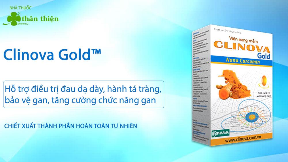 Sản phẩm Clinova Gold có bán chính hãng tại các Nhà Thuốc Thân Thiện