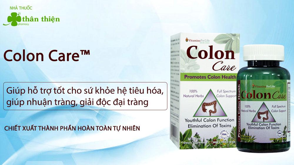 Nhuận tràng Colon Care có bán tại các nhà thuốc trên toàn quốc