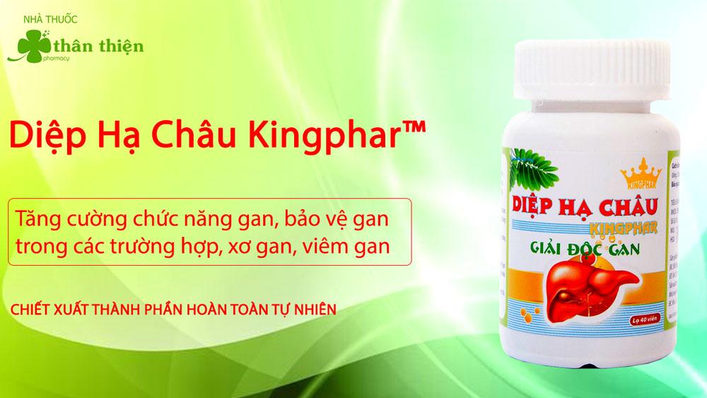 Sản phẩm Diệp Hạ Châu Kingphar có bán chính hãng tại Nhà Thuốc Thân Thiện