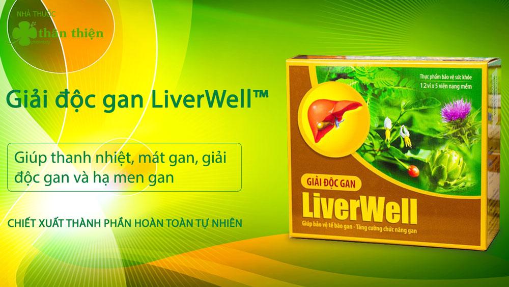 Sản phẩm Giải Độc Gan Liverwell có bán tại các nhà thuốc trên toàn quốc