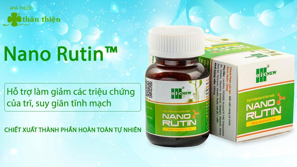 Nano Rutin bán chính hãng tại Nhà Thuốc Thân Thiện
