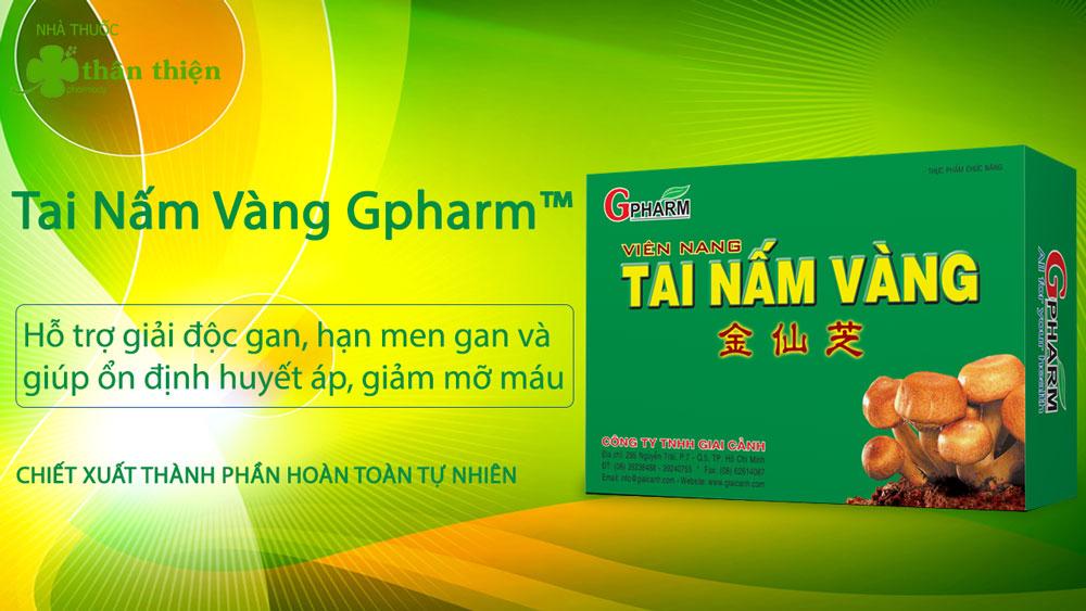 Sản phẩm Tai Nấm Vàng có bán chính hãng tại nhà thuốc Thân Thiện