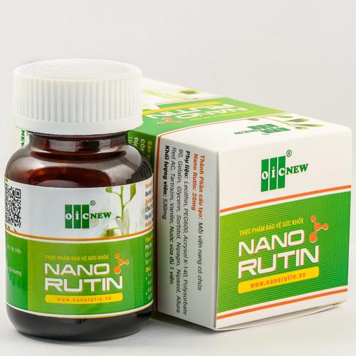 Sản phẩm Nano Rutin
