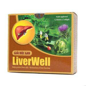 Giải độc gan Liverwell