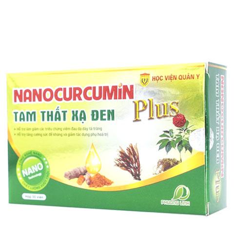 Nano Curcumin plus, Tam Thất, Xạ Đen!