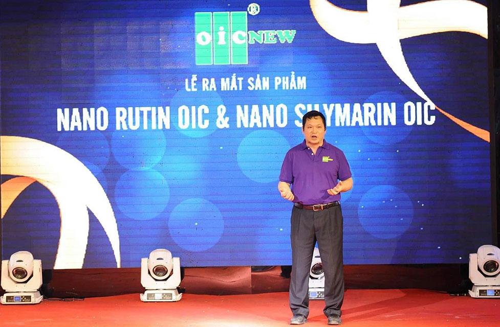 Ra mắt sản phẩm Nano Rutin và Silymarin