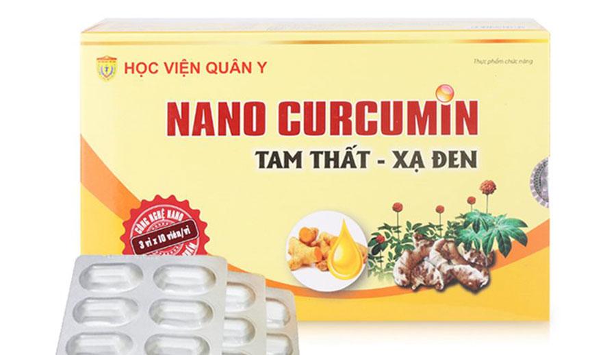 Nano Curcumin tam thất – xạ đen