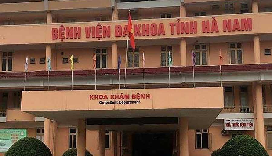 Bệnh viện Đa khoa tỉnh Hà Nam - nơi 5 bác sĩ, nhân viên bị bắt