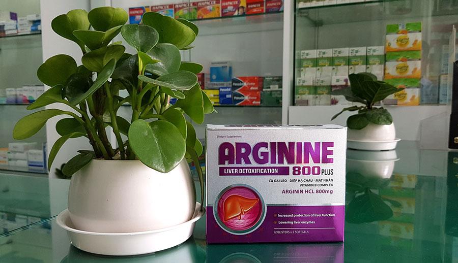 Hình chụp Arginine 800 Plus tại nhà thuốc!