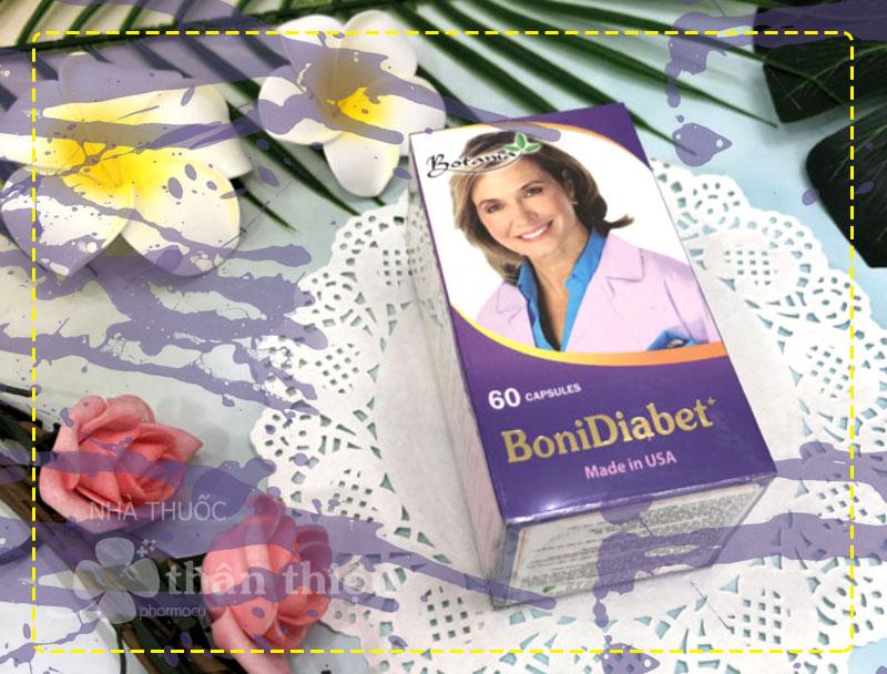 Bonidiabet, hỗ trợ ngăn ngừa các biến chứng của bệnh tiểu đường