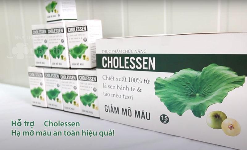 Cholessen, hỗ trợ làm giảm gan nhiễm mỡ, tăng chuyển hóa chất béo