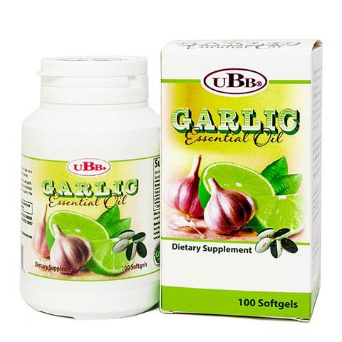 Dầu tỏi chanh UBB - Garlic Essential Oil UBB