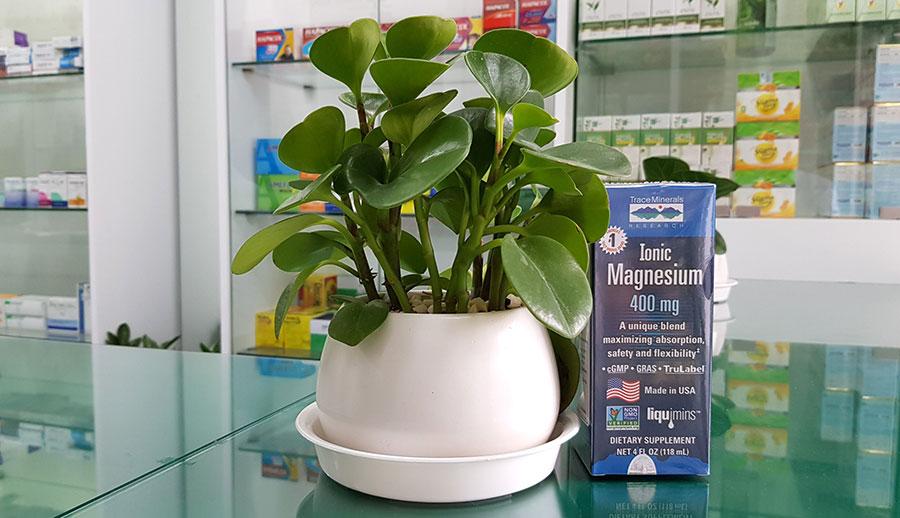 Hình chụp Ionic Magnesium tại nhà thuốc!