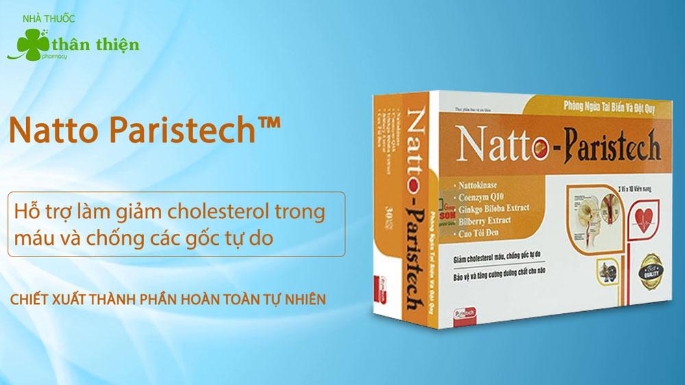 Sản phẩm Natto Paristech có bán trực tiếp tại Nhà Thuốc Thân Thiện