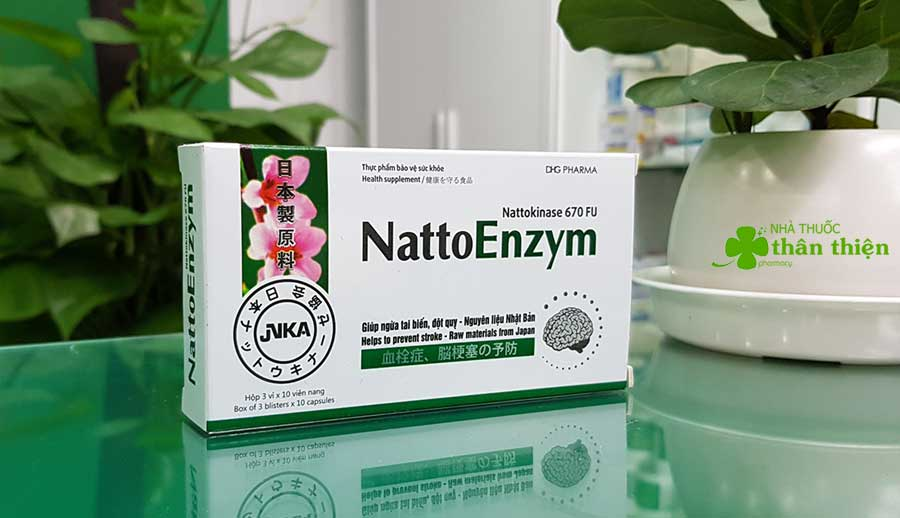 Hình chụp Nattoenzym tại nhà thuốc Thân Thiện!