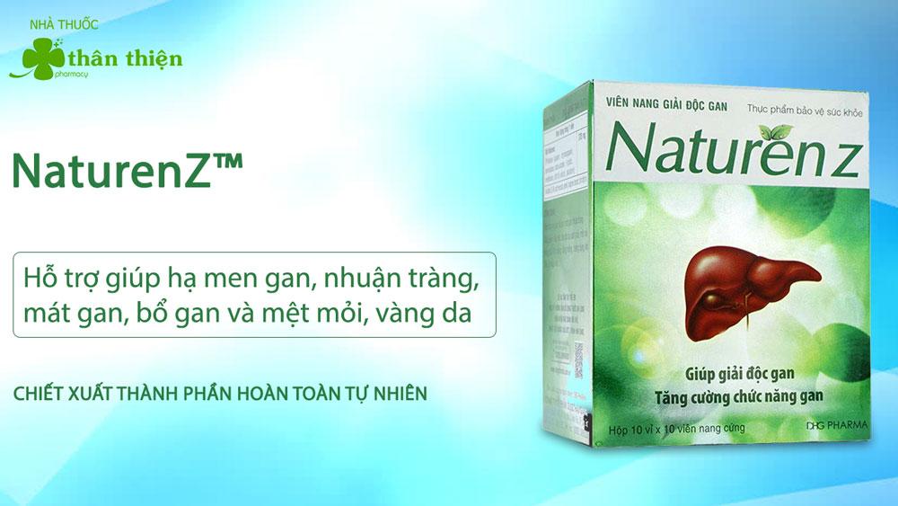 NaturenZ có bán tại các nhà thuốc trên toàn quốc