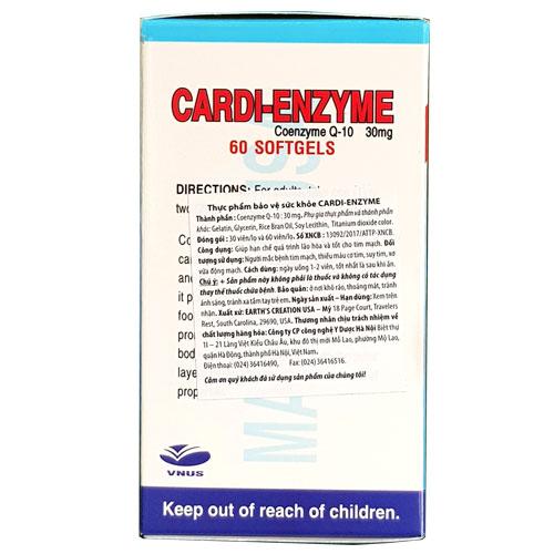 Nhãn mác Cardi Enzyme