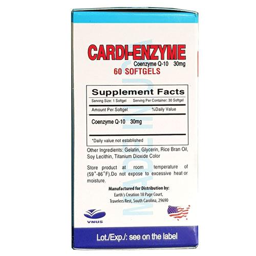 Thành phần Cardi Enzyme