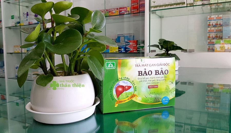 Hình chụp Trà Tan Bảo Bảo tại nhà thuốc!