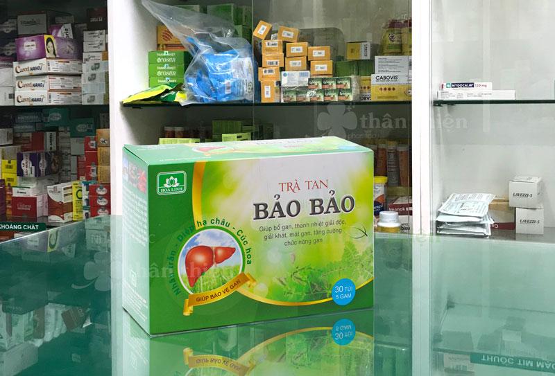 Trà Tan Bảo Bảo, giúp bổ gan, thanh nhiệt, giải độc