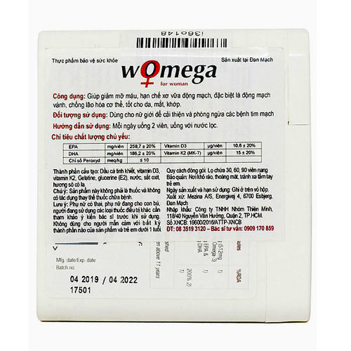 Womega For Woman