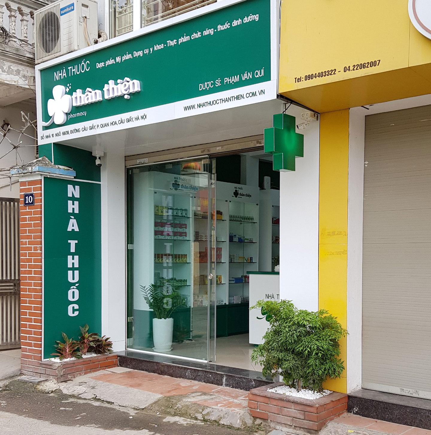 Nhà thuốc Thân Thiện - Nhà thuốc tốt tại Hà Nội