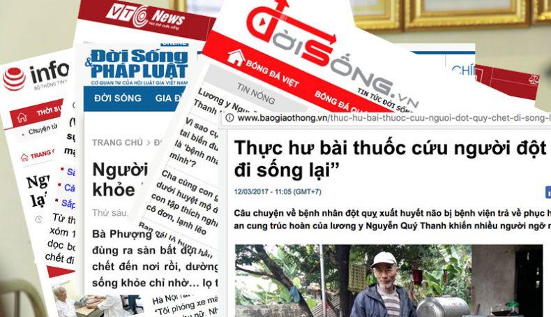 Báo chí nói về An Cung Trúc Hoàn