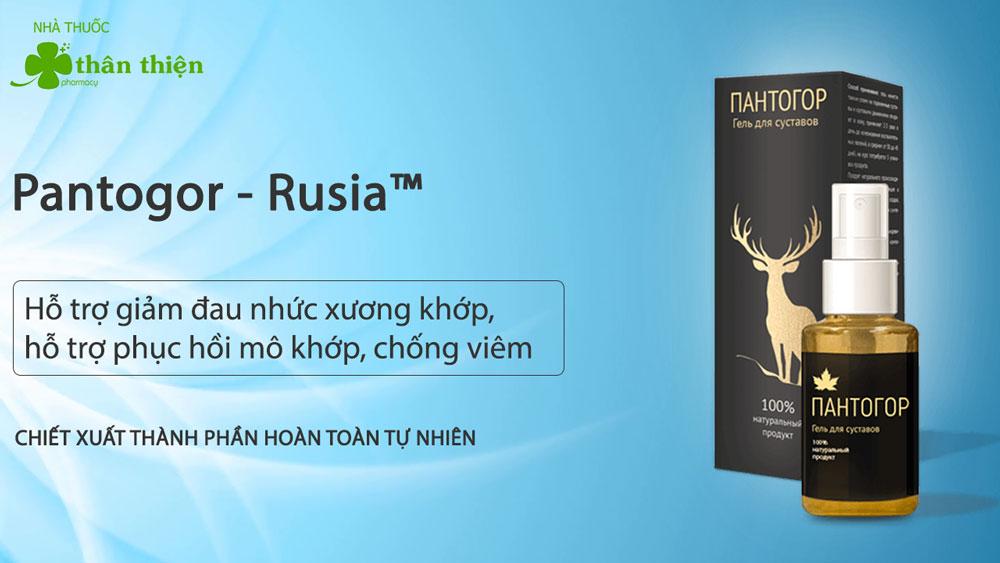 Sản phẩm Pantogor đang bán trên thị trường, nhà thuốc không kinh doanh sản phẩm này