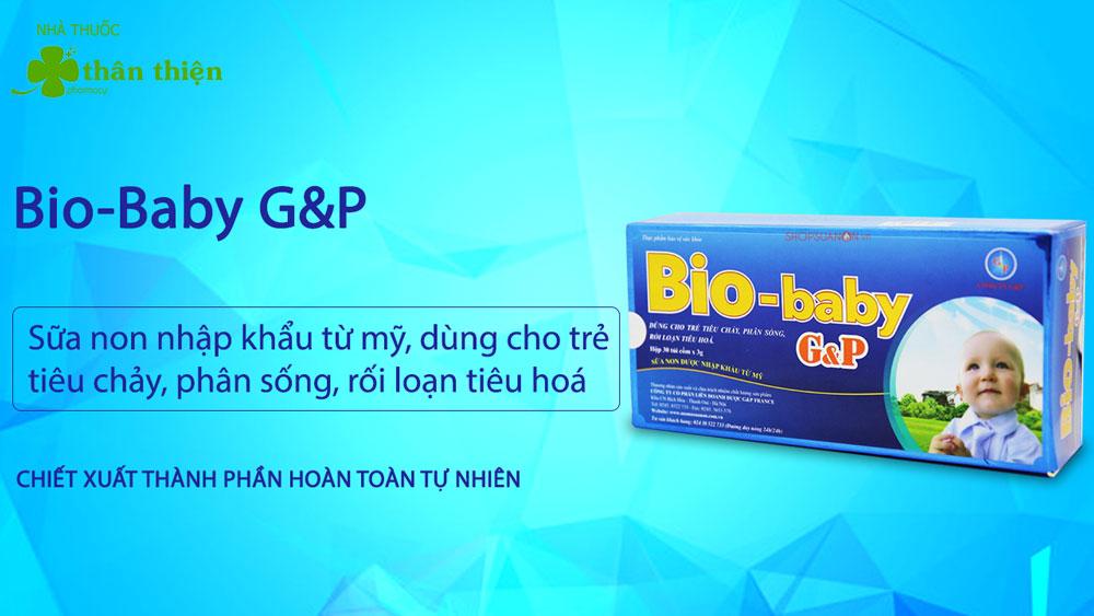 Bio-Baby G&P có bán chính hãng tại Nhà Thuốc Thân Thiện