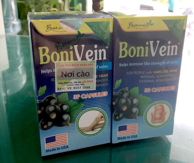 (mẫu mới) Hình chụp Bonivein made in USA tại Nhà Thuốc Thân Thiện