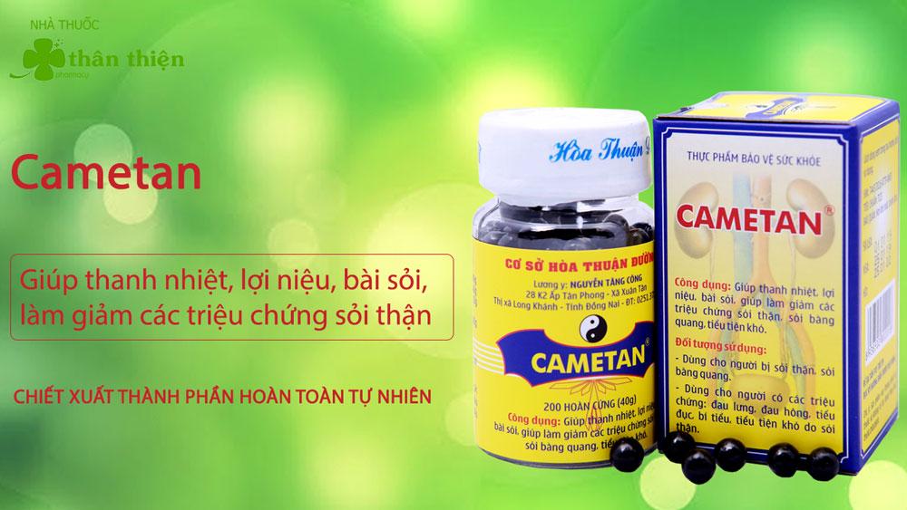 Cametan có bán chính hãng tại Nhà Thuốc Thân Thiện