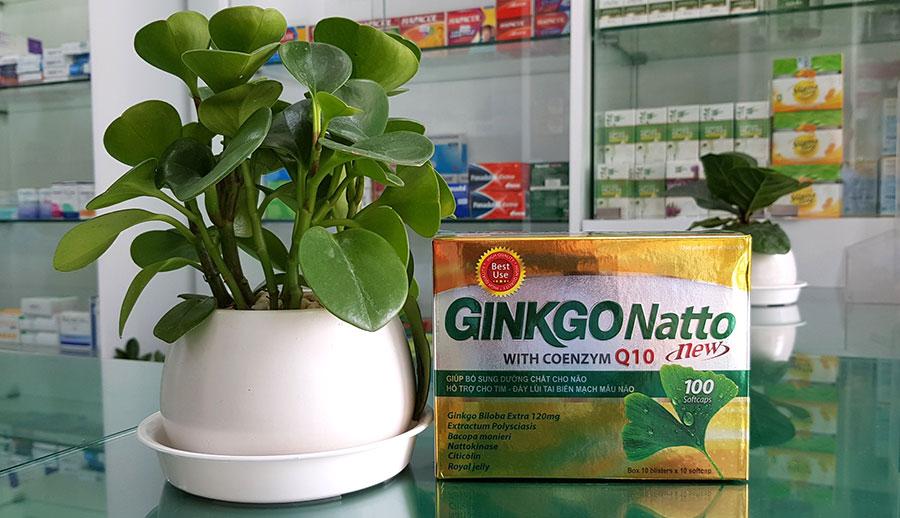 Sản phẩm Ginkgo Natto New có bán trực tiếp tại Nhà Thuốc Thân Thiện