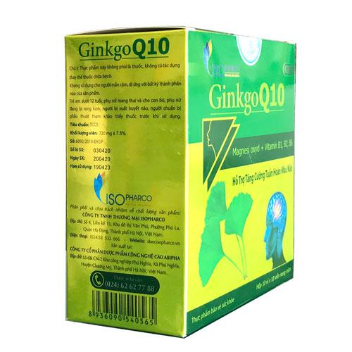 Thông tin công ty Ginkgo Q10