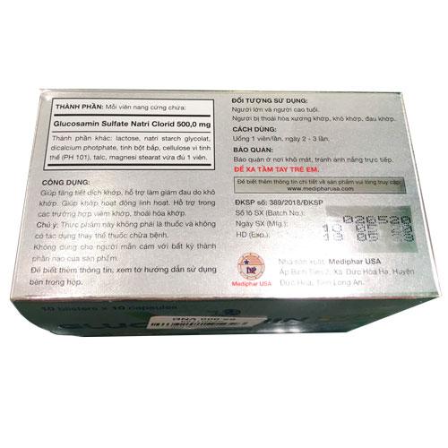 Thành phần Glucosamin 500