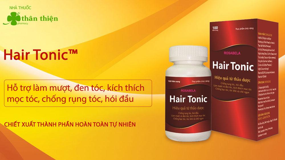 Sản phẩm Hair Tonic có bán chính hãng tại một số nhà thuốc trên toàn quốc