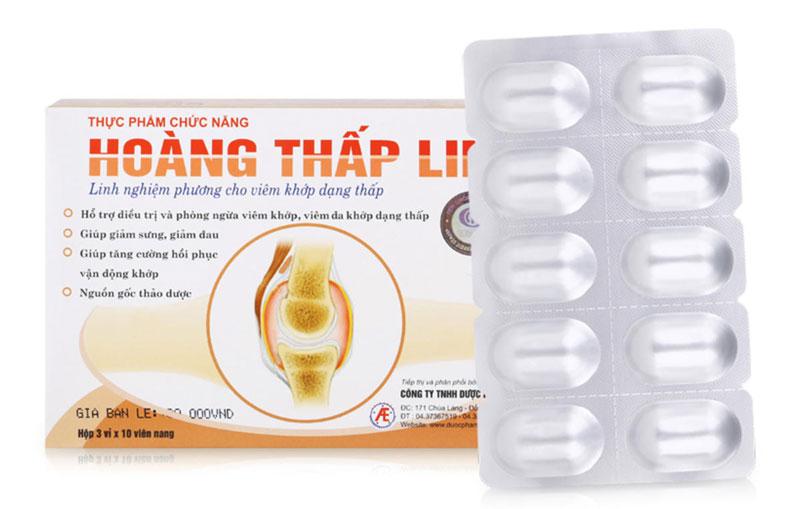 Hoàng Thấp Linh, hỗ trợ điều trị và phòng ngừa viêm khớp, viêm đa khớp