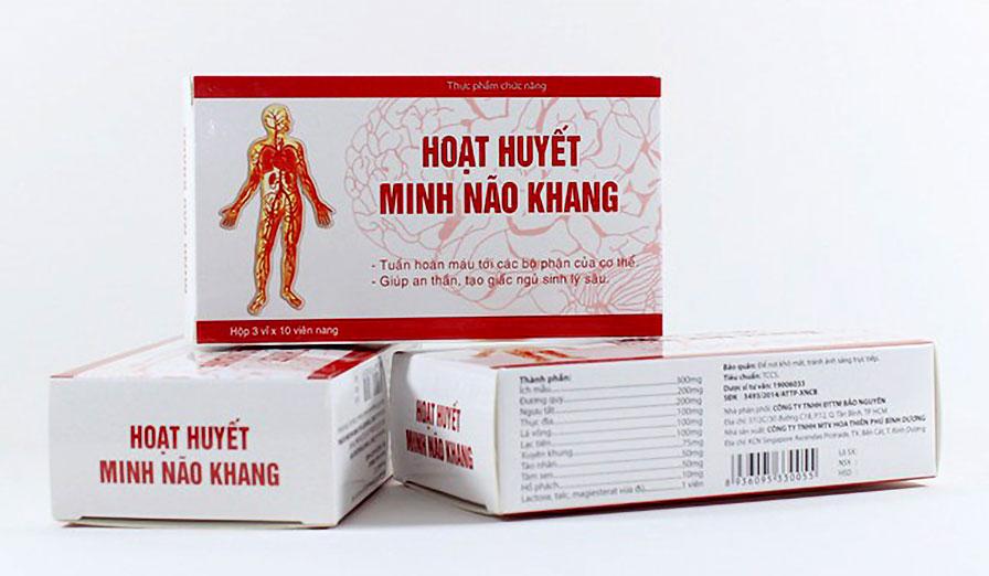 Hoạt Huyết Minh Não Khang, hỗ trợ làm giảm các triệu chứng rối loạn tiền đình