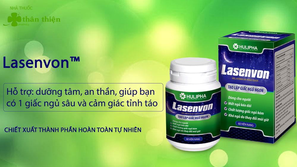 Sản phẩm Lasenvon có bán chính hãng tại Nhà Thuốc Thân Thiện