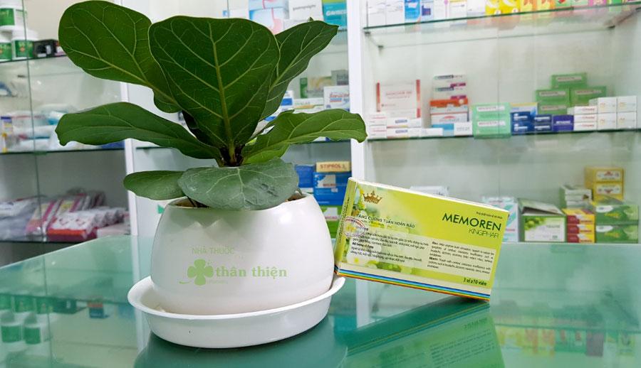 Hình chụp Hoạt huyết dưỡng não Memoren Kingphar tại Nhà Thuốc Thân Thiện