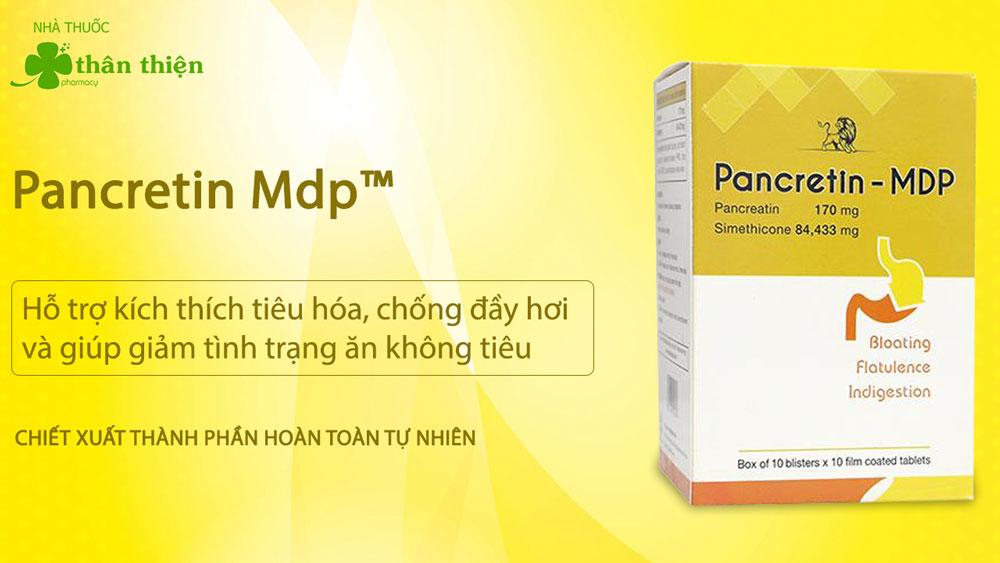 Pancretin Mdp có bán chính hãng tại Nhà Thuốc